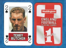 England Terry Butcher Ipswich Town 2S